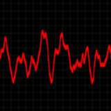 Video di frequenza cardiaca illustrazione vettoriale