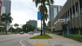 Video di moto di Miami di Midtown video d archivio