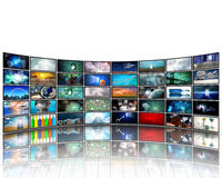 Video Display Stock Photo