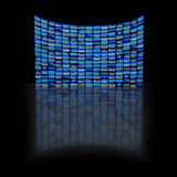 Video displays royalty free stock images