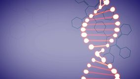 Video of DNA   in motion stock footage