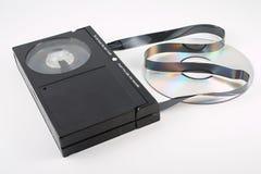 Video domestico passato e corrente Fotografie Stock