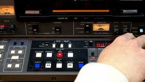 Video Editing Equipment stock video