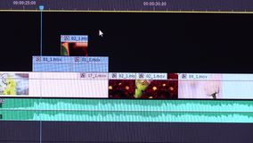 Video Editing Software stock video footage