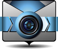 Video email Royalty Free Stock Photography