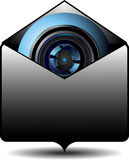 Video email Stock Image