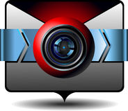 Video email Royalty Free Stock Image