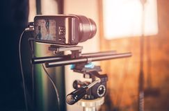 Video Equipment in Action royalty free stock photo