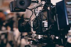 video för vektor för kameraillustration realistisk Royaltyfri Bild
