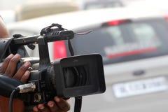 video för vektor för kameraillustration realistisk Fotografering för Bildbyråer