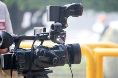 video för vektor för kameraillustration realistisk Royaltyfria Foton