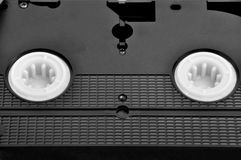 video för kassettband Arkivfoto
