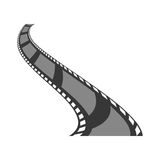 Video or film icon image. Filmstrip video or film icon image  illustration design Royalty Free Stock Image