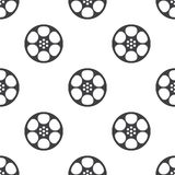 Video film, vector seamless pattern Royalty Free Stock Photo