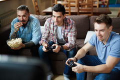 Video-game addiction Royalty Free Stock Photos