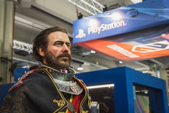 Video game character at Games Week 2014 in Milan, Italy Stock Photo