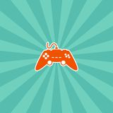 Video game console theme Stock Photo