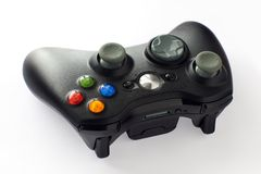 Video game controller. On white background Royalty Free Stock Photography