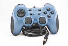 Video Game Controller. On white background stock image