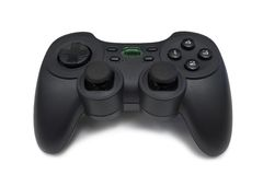 Video game controller. On white background Stock Photo