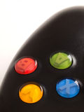 Video game controller buttons Stock Images