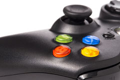 Video game controller isolated on white background Stock Image