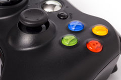 Video game controller isolated on white background Royalty Free Stock Images