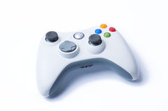 Video Game Controller. In white isolated background Stock Images