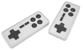 Video game controllers Royalty Free Stock Photo
