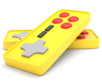 Video game controllers Royalty Free Stock Photography