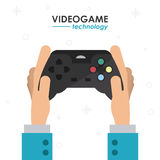 Video game design Royalty Free Stock Images