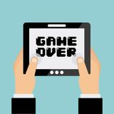 Video game design Stock Image