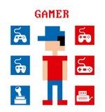 Video game design Stock Photos
