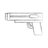 Video game gun icon Stock Photos