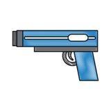 Video game gun icon Royalty Free Stock Image