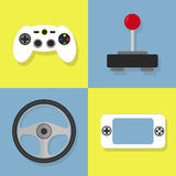 Video game icons Stock Images