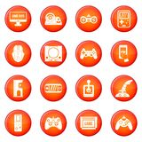 Video game icons vector set Stock Photography