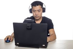 Video Game Live Streamer Royalty Free Stock Photography