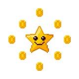 Video game pixel design Stock Photo