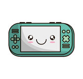 Video game portable device Stock Photography