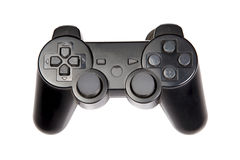 Video game remote. Over white background Royalty Free Stock Images