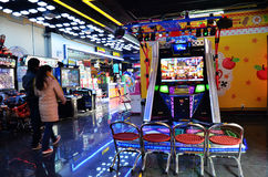 Video game room. A image of modern video game room in wuhan city, hubei province, china Royalty Free Stock Photography