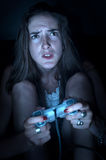Video game stress Stock Images