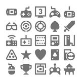 Video Game Vector Icons 3 Royalty Free Stock Photography