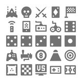 Video Game Vector Icons 4 Royalty Free Stock Images
