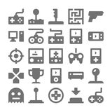 Video Game Vector Icons 1 Stock Photo