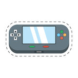video gamepad portable technology Stock Photography