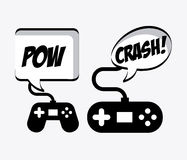 Video gamers Royalty Free Stock Images