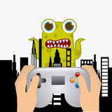Video gamers Royalty Free Stock Photography