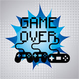 Video gamers Royalty Free Stock Photos